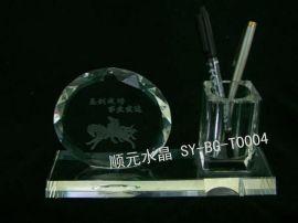 水晶笔筒(SY-BG-T0004)