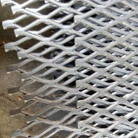 钢板冲孔网 菱形建筑网 不锈钢板网