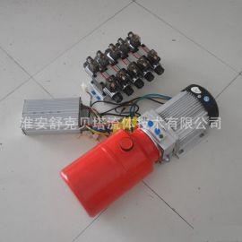 48V1.5KW-5直流无刷电机(长时间工作制)-5组电磁阀液压动力单元