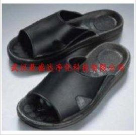 防靜電黑色拖鞋