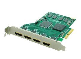 HZ8400HDMI PCIE系列4路采集卡