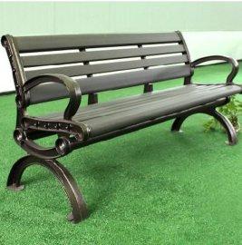 公园椅 长椅 休闲椅 塑木椅 户外休闲家具 园林椅 铸铁广场靠背椅