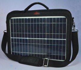 15W太阳能充电电脑包