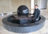 黑色风水球, 酒店大厅风水球