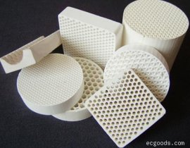 堇青石蜂窝陶瓷过滤片
