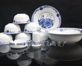 景德镇青花瓷餐具