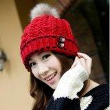 新款针织帽子女韩国秋冬季韩版护耳毛线帽