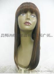 E10B-51353  女士有刘海中长直发假发