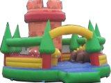 供應優質兒童充氣城堡 大型充氣玩具蹦牀廠家 多彩氣模