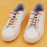 炫酷彩色 硅胶懒人鞋带子 6根一包弹性正品 免系发光硅胶鞋带