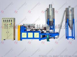 再生塑料造粒机(PVC膜料风环切粒)