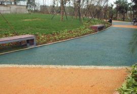 彩色透水混凝土新型环保的透水路面材料云阳县、奉节县