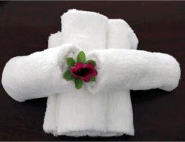 一次性毛巾一次性白毛巾洗浴专用足浴桑拿专用可绣字加LOGO