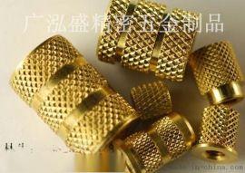 供东莞M5铜螺母M5滚花螺母五金生产工厂