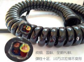 扬州斯拜秀【电气自动化用弹簧线螺旋电缆】弹簧电线厂家
