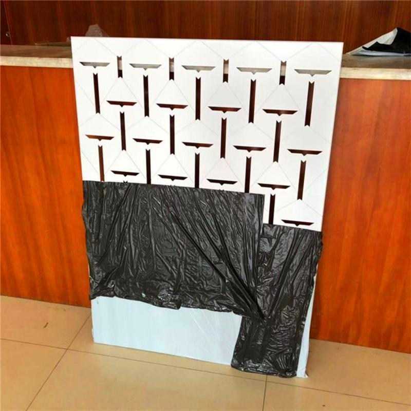 黃色外牆鏤空鋁單板 白色造型雕刻鋁單板廠家 規格齊全