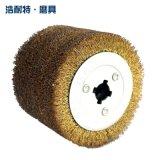拉丝机专用拉丝钢丝轮十字芯120*100木材石金属表面打磨抛光