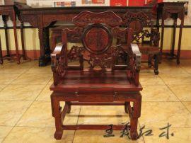 哪家的红木中堂好 中式明清王义红木家具