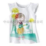 童t恤   夏款t恤 欧美童装 女童短袖纯棉T恤 儿童短袖t恤 品牌新品童装
