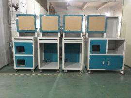 厂家直销工业电脑柜 多功能立式金属双色车间pc电脑柜