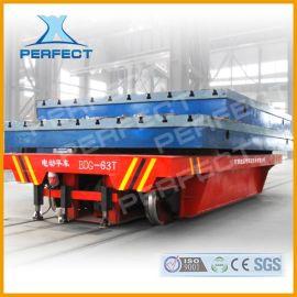 轻型工具搬运车电缆卷筒电动拖车过跨车10吨20吨30吨钢卷钢材轨道平板车