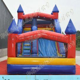 定制充气滑梯,直销儿童成人用组合滑梯,充气玩具 儿童充气城堡 小型充气蹦床