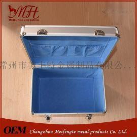 低价**铝合金箱 、厂家直销器材箱  手提医疗器械箱EVA防震垫铝箱