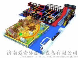 泰安淘气堡厂家 大型蹦床乐园 专业生产厂家免费保修一年