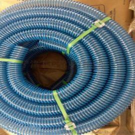 PU加强筋螺旋管吸尘管 耐磨木屑抽吸管