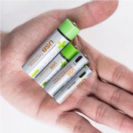 Micro-USB充电3.7V恒压18650锂电池