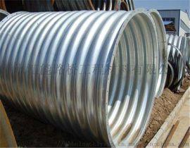 钢波纹管 林芝公路应用 钢波纹管