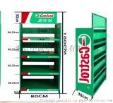 機油貨架輕型倉儲小超市展示架鐵架角鋼貨架