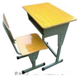河南课桌椅厂家,河南单人学生课桌椅,单人课桌椅尺寸