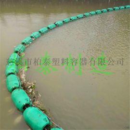 水上拦污浮筒浙江警示浮筒厂家