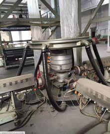 上牵引旋转三层共挤吹膜机组 吹膜机专业厂家