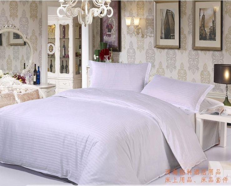 河南铭科酒店用品,酒店布草客房布草,贡缎全棉客房床上用品定做
