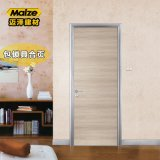 佛山迈泽建材铝合金生态门套装门简约室内卧室门