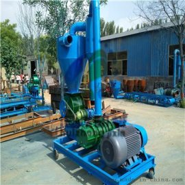 移动式脉冲除尘气力型上料机 粮食用罗茨风送输送机 绵阳市柴油动力气力输送机