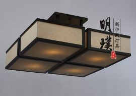 酒店楼道中式吸顶灯 生产厂家酒店吸顶灯 中山现代中式吸顶灯厂家