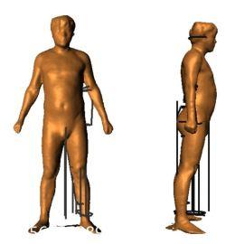 服装定制-服装设计-3D人体扫描仪