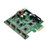 西普萊PCIE轉USB2.0轉接卡10口