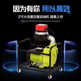 餘龍2寸定量定價加油泵大流量220V柴油加油機抽油泵廠家直銷 包郵