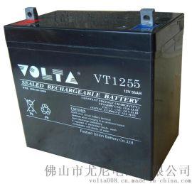 太阳能专用12V55AH胶体蓄电池