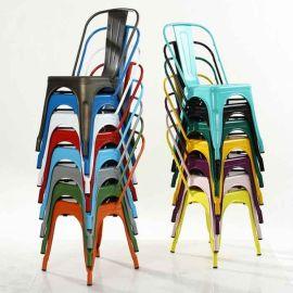 铁艺护外椅|沙滩椅|快餐厅餐椅厂家供应深圳众美德