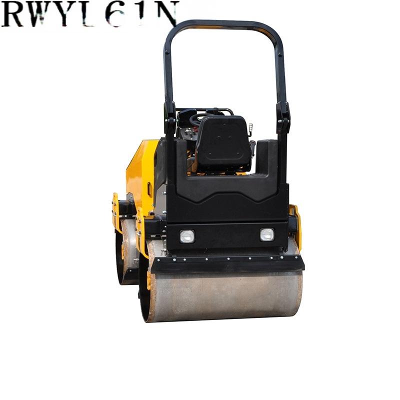 3吨压路机,小型压路机RWYL61N単振动小压路机