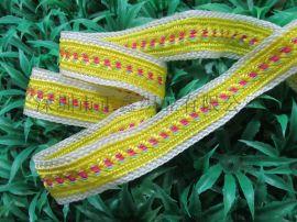 厂家直销花边织带 尼龙提花织带生产定制