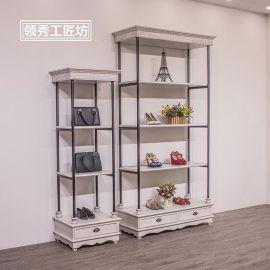 廠家直銷服裝店中島展示架 陳列置物架家紡店多層貨架定制定做