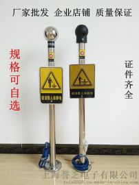 JS-PSA防爆人体静电释放报警器 消除人体静电球