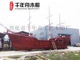 供应河南山东南京装饰海盗主题木质帆船