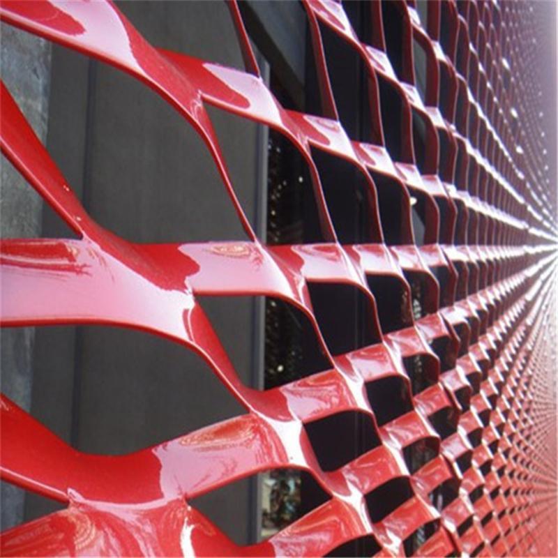 專業三塗兩烤用作建築裝飾的 碳噴塗鋁板網